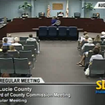 BOCC, St Lucie County, Commissioner Meeting, SLC