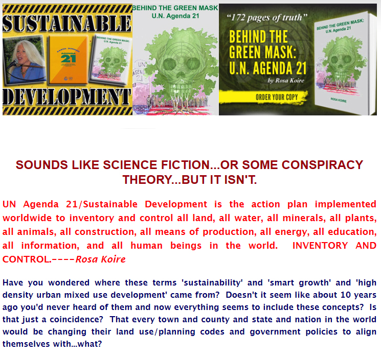 Rosa Korie, Democrats Against U.N. Agenda 21, United Nations, Sustainable Growth, Conspiracy Theory