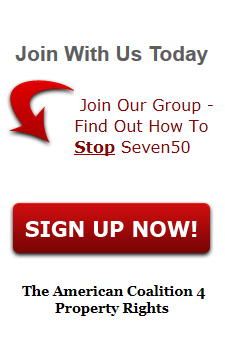 seven50, plan, agenda 21, sign up, newsletter, AC4Pr.org